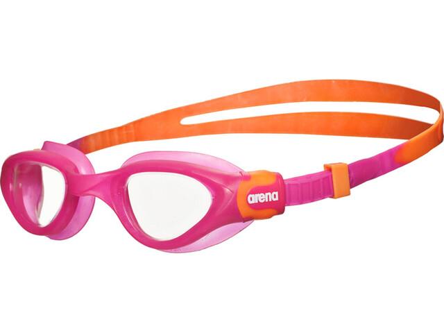 arena Cruiser Soft Goggles Juniors fuchsia-clear-orange